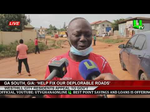 Ga South, G/A: 'Help Fix Our Deplorable Roads' - Westhill City Residents Appeal To Gov't