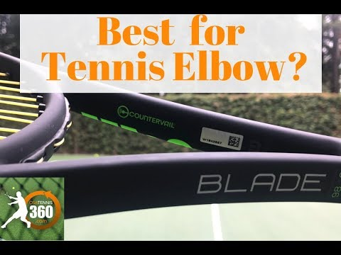Is This The Best Tennis Racquet for Tennis Elbow? Wilson Blade 98S Countervail (16×19) Racket Review