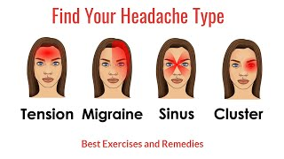 Find Your Headache Type: Best Exercises and Remedies for Each
