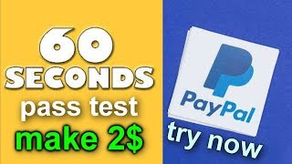GET 2 USD to PAYPAL every 60 seconds work from home