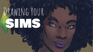 Speed Draw – Drawing Your Sims