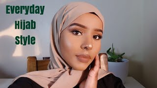 5 EVERYDAY HIJAB STYLES TUTORIAL   30 SECOND QUICK AND EASY  NO PINS + WHERE I BUY HIJABS FROM 2019