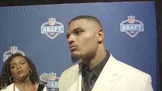 Miami Dolphins DB Minkah Fitzpatrick talks about the moment he was drafted