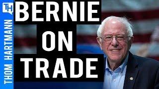 Bernie Sanders on Joe Biden, Trade, Health and William Barr