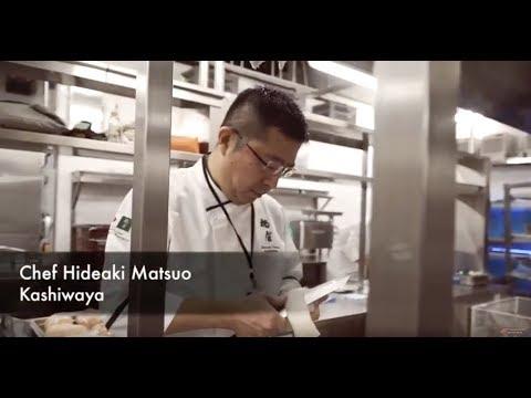 Chef Hideaki Matsuo for Gala Dinner in Macau