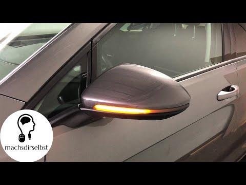 [Golf VII / Touran / Sportsvan] Dynamische LED Spiegelblinker verbauen Tutorial (HD)