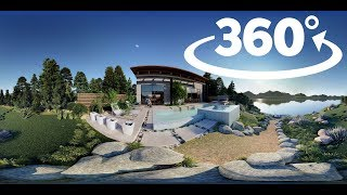 TIPS AND TRICK LUMION 8#1  CREATE 360 PANORAMA FULL EFFECT