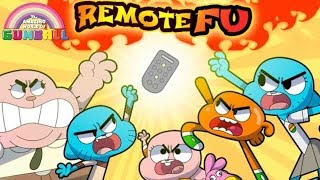 The Amazing World of Gumball: Remote Fu - Fun Fight To Watch TV - Cartoon Network Games For Kids