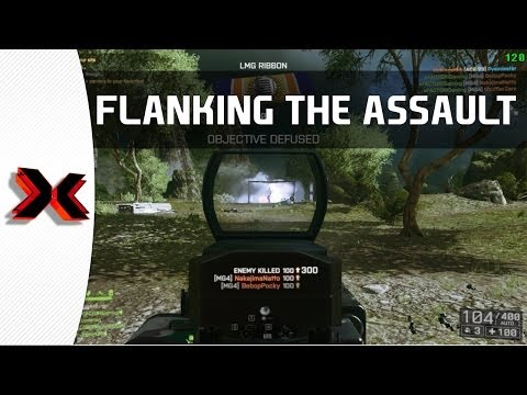 Reaching around for victory - Guilin Peaks BF4 Rush gameplay