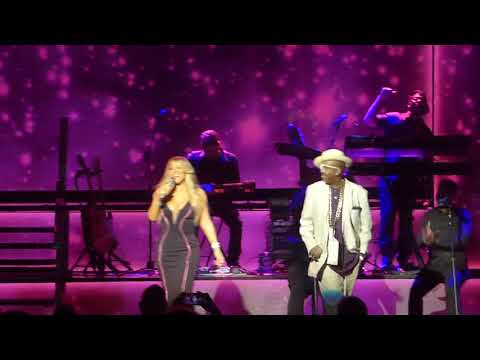 "Mariah Carey ""Giving Me Life"" LIVE w/ Slick Rick & Blood Orange"