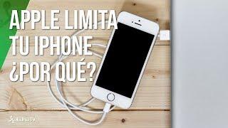 Apple confirma el bajo rendimiento de sus viejos iPhone