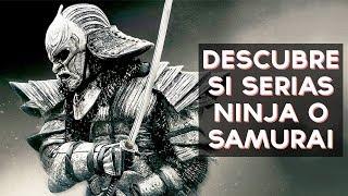 Serias un Ninja o un Samurai? Descubre si serias un Ninja o un Samurai con este divertido test! ↠↠ ¡No te olvides de suscribirte para no perderte ningún test!