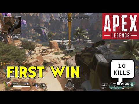 First Win   Apex Legends Gameplay