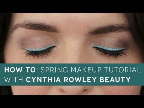 How To: Spring Makeup Tutorial with Cynthia Rowley Beauty