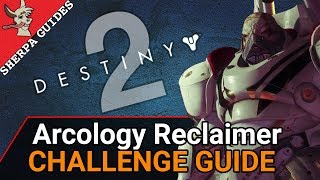 How to Find New Pacific Arcology | Arcology Disclaimer Challenge Guide | Destiny 2