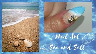 How To: Nail Art Beach 🏖️🏖️ | DNails