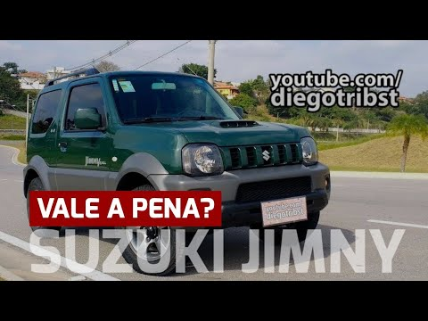 Vale a pena comprar um Suzuki Jimny?