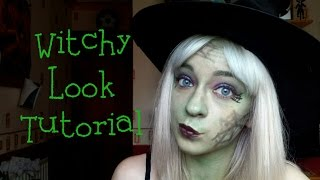Simple Halloween Witch Tutorial