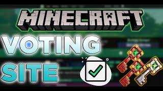 How to setup Voting for Minecraft Server