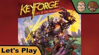 Keyforge - Ruf der Archonten - Let's Play