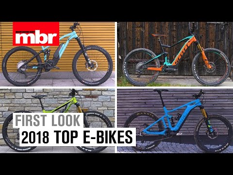 5 of the Hottest E-Bikes for 2018 | MBR