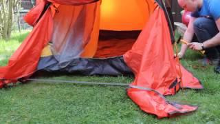 GEERTOP Alpine Camping zelt Kuppelzelt Familienzelt Trekkingzelt 20D Super Leicht und Wasserdichte,