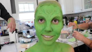 Transforming Jac into Gamora from Guardians of the Galaxy
