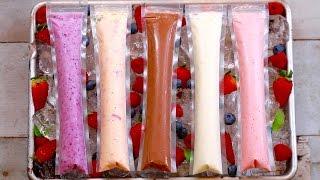 Frozen Yogurt Pops (5 Easy Snacks) Gemma's Bigger Bolder Baking Ep  118