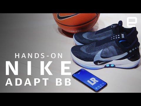e742f133ec1 Google News - Nike teases self-lacing basketball sneaker - Overview