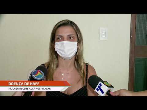 Síndrome de Haff: empresária que recebeu alta hospitalar concede entrevista