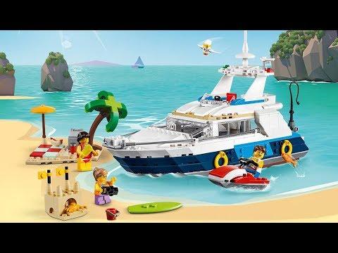 Vidéo LEGO Creator 31083 : Les aventures en croisière