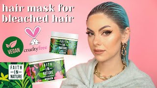 NATURAL HAIR MASK For BLEACHED HAIR   Vegan, Cruelty Free & Sustainable   Ad