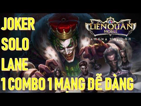 Joker 1combo 1 mạng dễ dàng mùa 9 Liên quân mobile