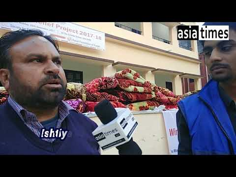 दिल्ली में रोहिंग्या को मिली विंटर रिलीफ: अच्छे कम्बल पाकर काफी खुश नज़र आये लोग