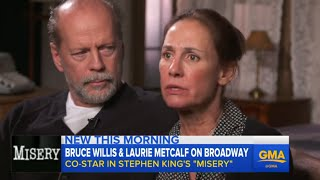 Bruce Willis' Behind the Scenes Look at 'Misery' on Broadway