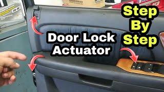 2007 - 2014 GMC & CHEVROLET Door Lock Actuator Install. Silverado Sierra Tahoe Yukon ECT