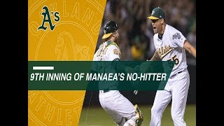Relive the final three outs of Sean Manaea