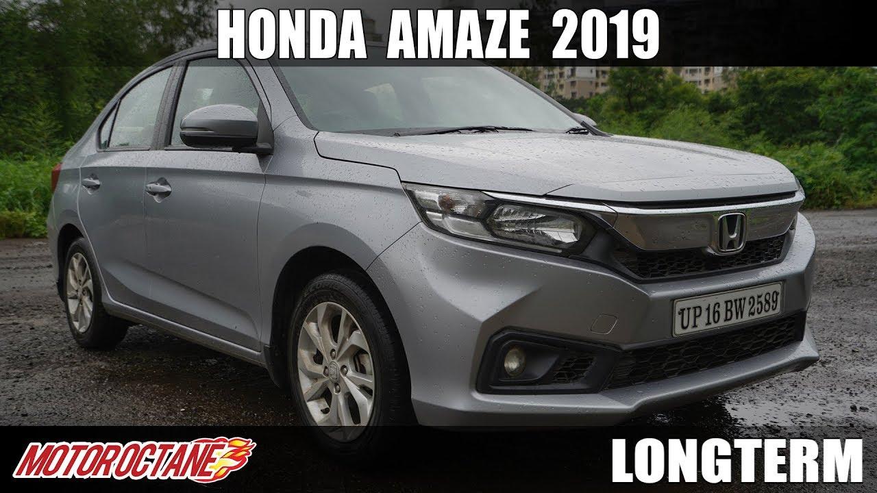 Motoroctane Youtube Video - Honda Amaze 2019 Long Term | Hindi | MotorOctane