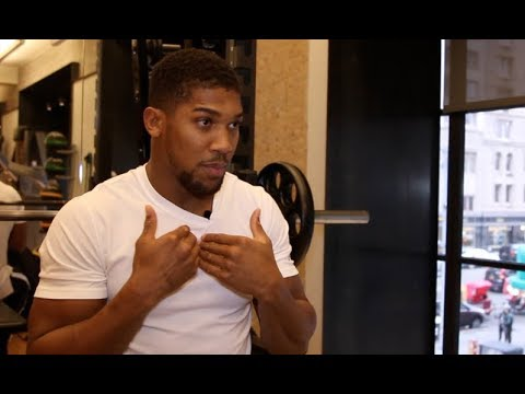 'BEGGING? - YEAH I'M BEGGING' - ANTHONY JOSHUA (UNCUT IN NYC) ON WILDER, TYSON FURY, WHYTE, MILLER (видео)
