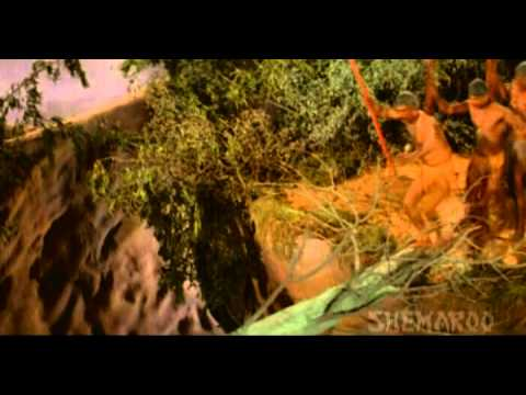 Adventures Of Tarzan - Hemant Birje - Kimmy Katkar - Elephant Saves Ruby - Best Bollywood Action