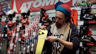 Видео: Что такое радиус карвинговой лыжи