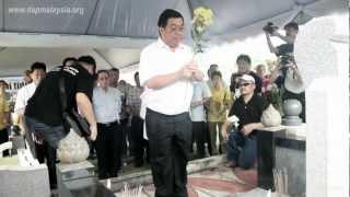 Upacara Memorial Awam Teoh Beng Hock Tahun Ke-3   赵明福逝世三周年公祭 15/7/2012
