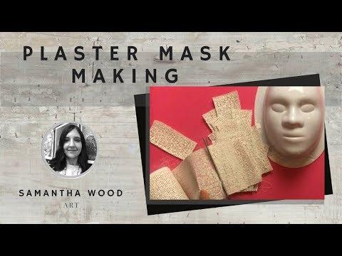 Facial mask ng isang halo ng