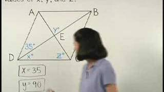 Properties Of A Rhombus - MathHelp.com - Geometry Help