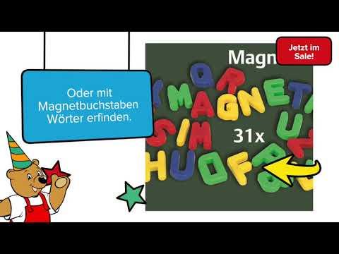 Eichhorn - Magnet-Standtafel 43tlg.