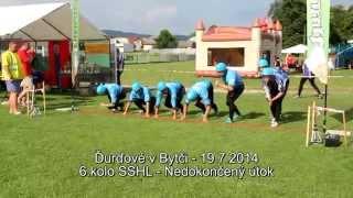 preview picture of video 'Ďurďové v Bytči, 6.kolo SSHL'
