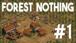 Forest Nothing 4v4 | Huns War | Game #1