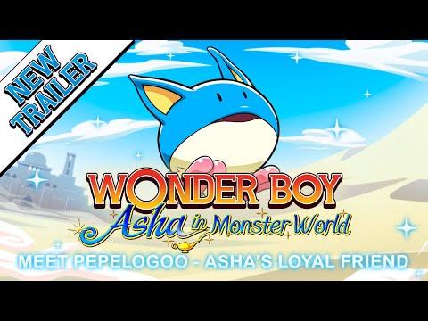 Wonder Boy: Asha in Monster World Pepelogoo Trailer