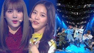 GWSN(공원소녀) - Puzzle Moon(퍼즐문) @인기가요 Inkigayo 20181007