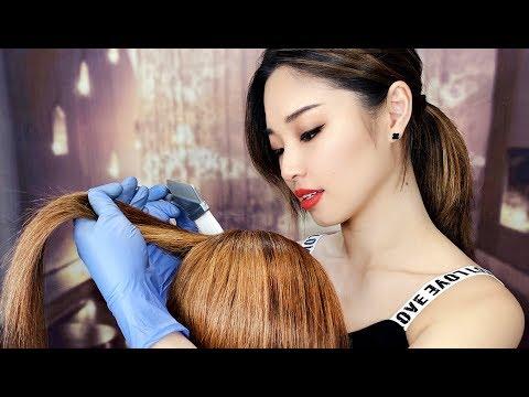 [ASMR] Tingly Winter Hair Treatment